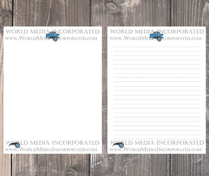 Orlando Magic: NBA Printable Paper & Writing Paper - Instant Download (Fast instant delivery)