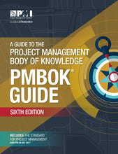 Guide to the Project Management Body of Knowledge (PMBOK Guide) Sixth Edition, & Agile Practice Guide - eBook, PDF (Fast instant delivery)