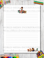 Paw Patrol - Printable Paper - Coloring, Diary, Art, Scrapbook