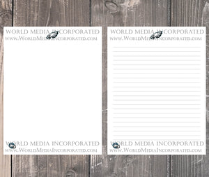 Philadelphia Eagles: NFL Printable Paper & Writing Paper - Instant Download (Fast instant delivery)