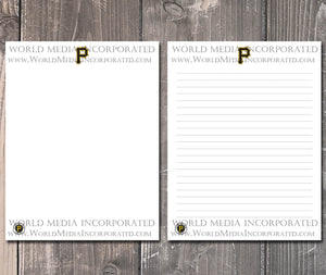 Pittsburgh Pirates: MLB Printable Paper & Writing Paper - Instant Download (Fast instant delivery)
