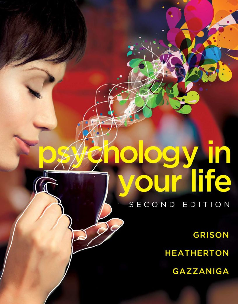 Psychology in Your Life: Second Edition - eBook, (Phone, Tablet, Computer) Fast Instant delivery