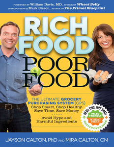 Rich Food Poor Food: The Ultimate Grocery Purchasing System (GPS) - eBook, (Phone, Tablet, Computer) Fast Instant delivery