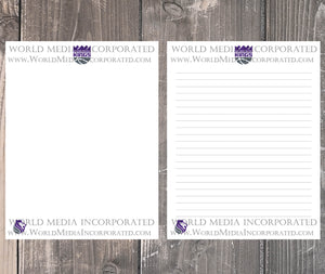 Sacramento Kings: NBA Printable Paper & Writing Paper - Instant Download (Fast instant delivery)