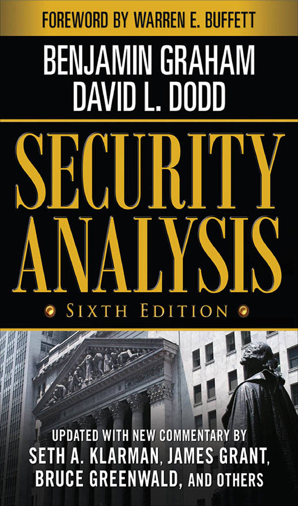 Security Analysis: Sixth Edition, Foreword by Warren Buffett - eBook, (Phone, Tablet, Computer) Fast Instant delivery