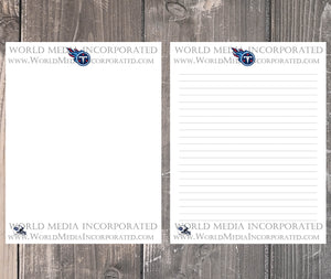 Tennessee Titans: NFL Printable Paper & Writing Paper - Instant Download (Fast instant delivery)