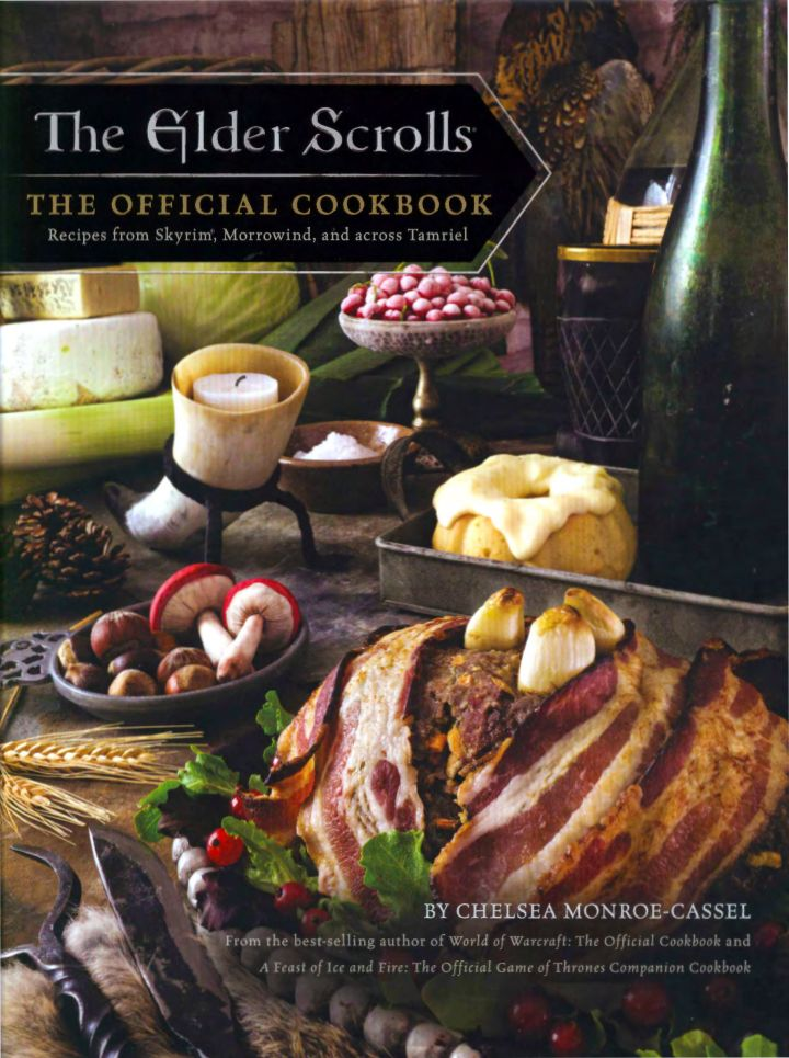 The Elder Scrolls: The Official Cookbook - eBook, (Phone, Tablet, Computer) Fast Instant delivery