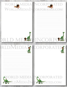 The Good Dinosaur - Printable Paper - Coloring, Diary, Art, Scrapbook