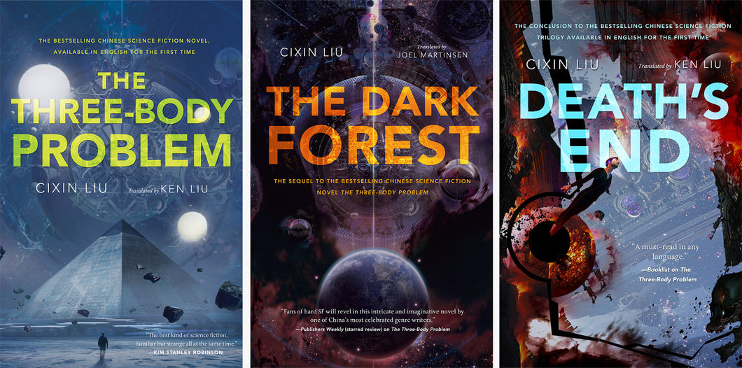 Remembrance of Earth's Past: The Three-Body Problem Trilogy - eBook, ePub, Mobi, PDF (Fast instant delivery)