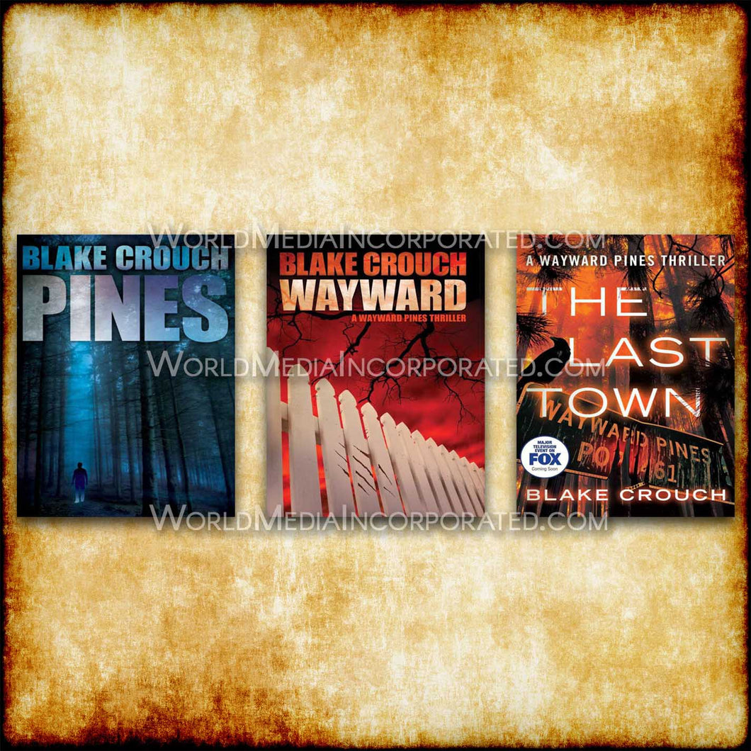 The Wayward Pines Trilogy: 3 in 1 Collection - eBook, (Phone, Tablet, Computer) Fast Instant delivery