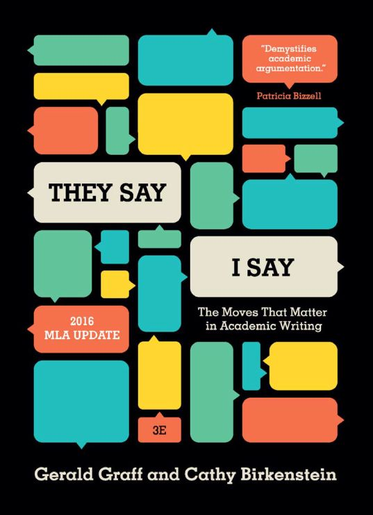 They Say / I Say: The Moves That Matter in Academic Writing - eBook, (Phone, Tablet, Computer) Fast Instant delivery