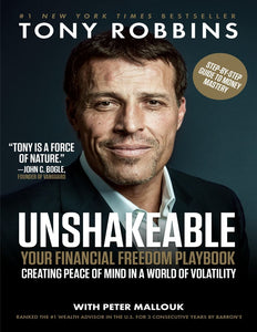 Unshakeable: Your Financial Freedom Playbook by Tony Robbins - eBook, ePub, Mobi, PDF (Fast instant delivery)