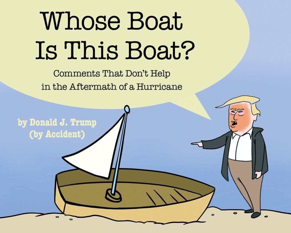 Whose Boat Is This Boat?: Comments That Don't Help in the Aftermath of a Hurricane - eBook, (Phone, Tablet, Computer) Fast Instant delivery