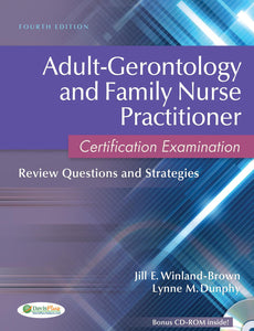 AduIt Gerontology and Family Nurse Practitioner Certification Examination: 4th Edition - eBook, PDF (Fast instant delivery)