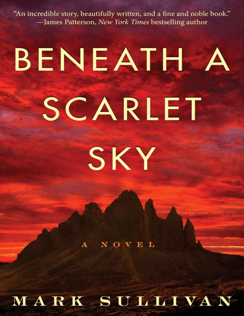 Beneath a Scarlet Sky: A Novel by Mark T. Sullivan - eBook, ePUB, Mobi, PDF (Fast instant delivery)