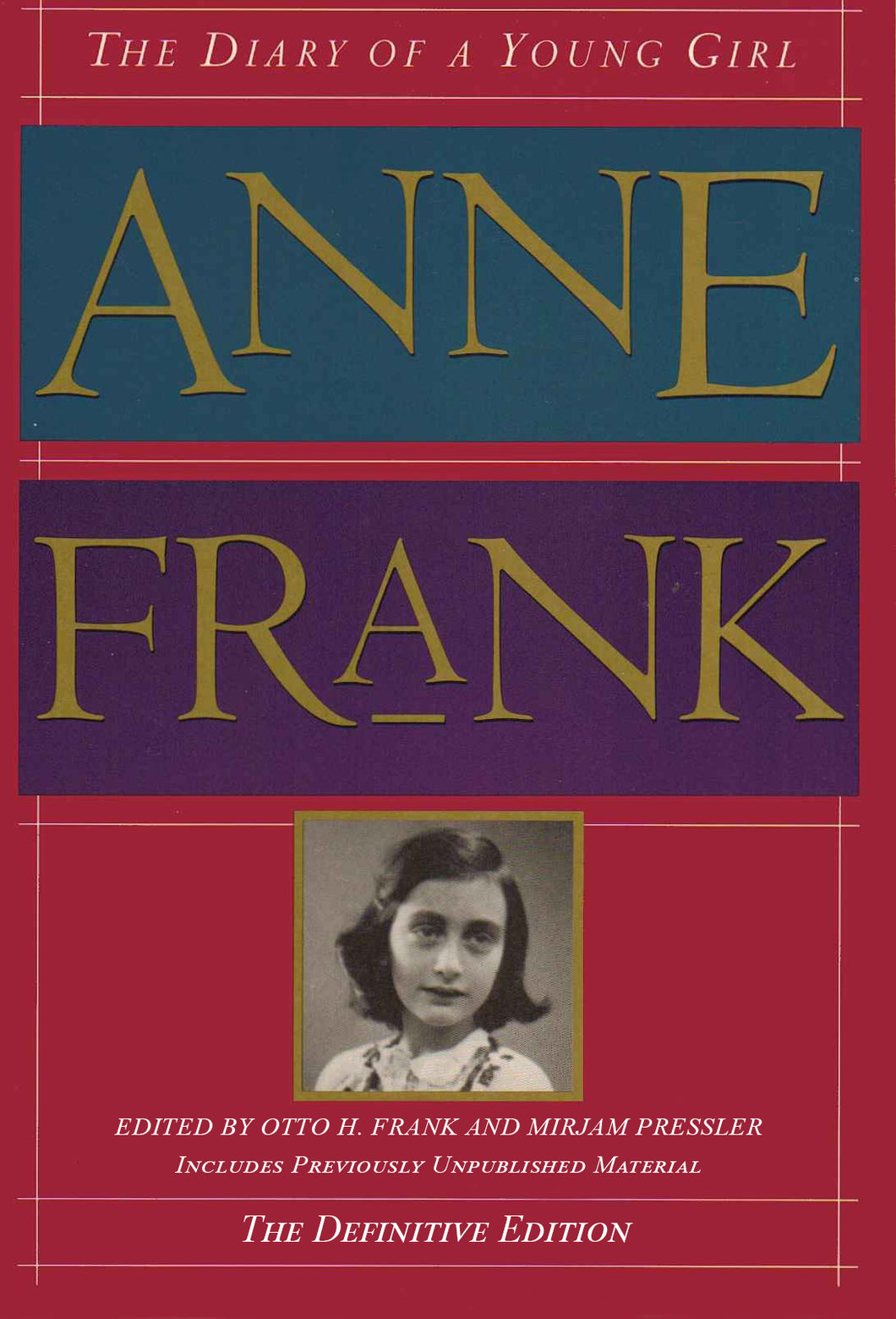 The Diary of a Young Girl: Definitive Edition: by Anne Frank - eBook, ePUB, Mobi, PDF (Fast instant delivery)