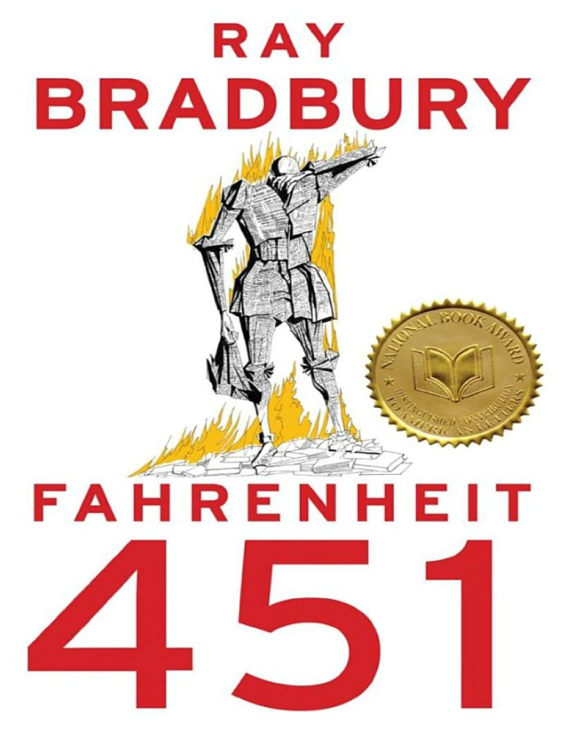 Fahrenheit 451: A Novel by Ray Bradbury - eBook, ePUB, Mobi, PDF (Fast instant delivery)