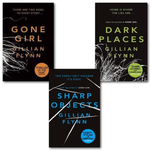 The Complete Gillian Flynn Series: Gone Girl, Dark Places, Sharp Objects - eBook, ePUB, Mobi, PDF (Fast instant delivery)