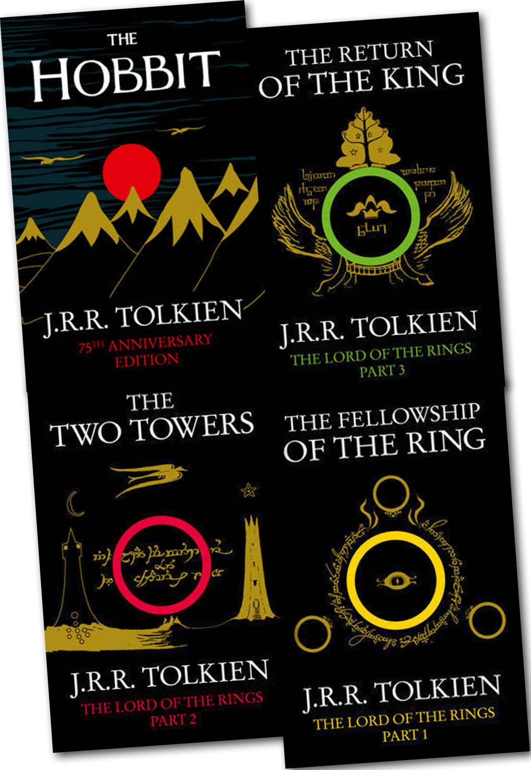Lord of the Rings: Collection, 4 Books (Hobbit, Fellowship, Two Towers, Return) - eBook, ePub, Mobi, PDF (Fast instant delivery)