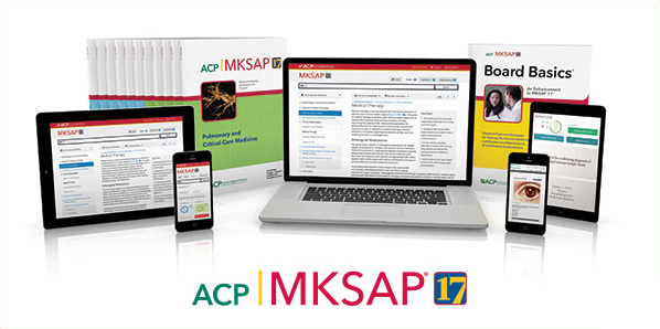 MKSAP 17: with Board Basics 4 - eBook, PDF (Fast instant delivery)