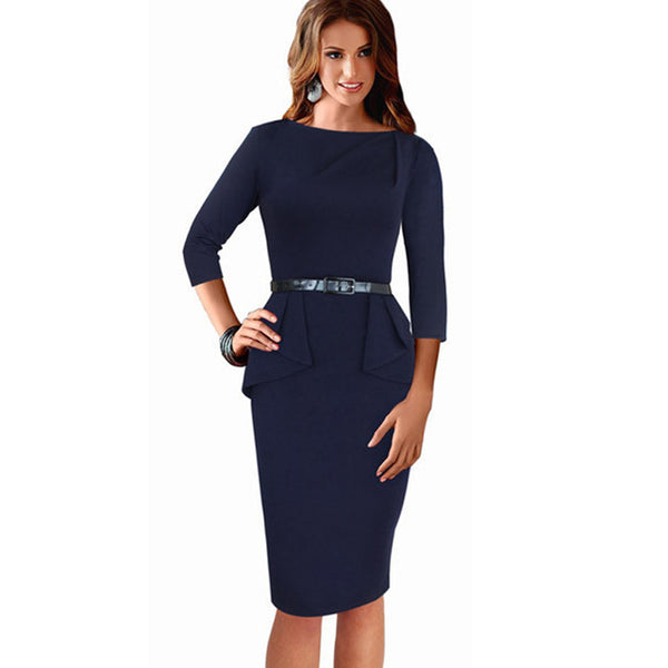 Corporate cocktail dress