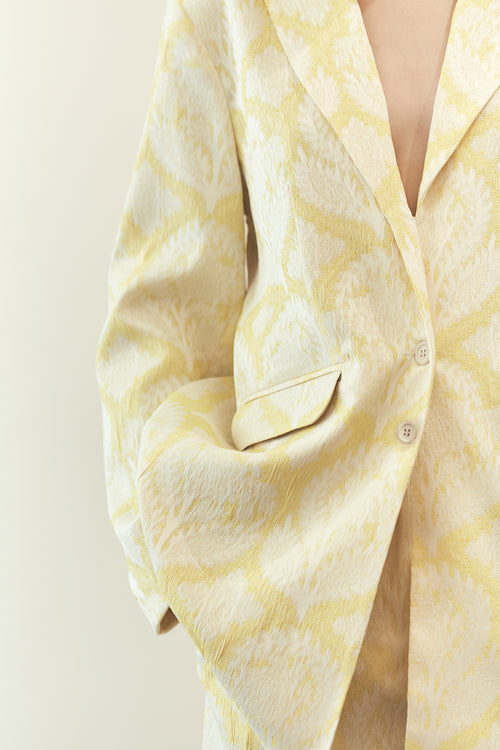 Oversized Blazer Lemon