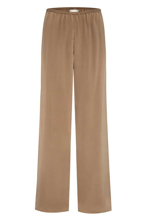 Irving Trouser Champagne Silk