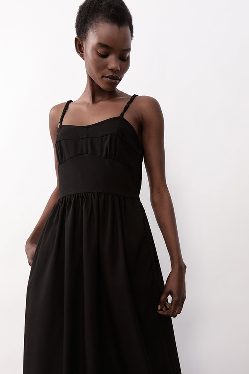 Alexandra Dress Black