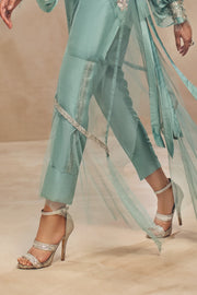 SYMPHONY-Ready to Wear-Raw Silk Pants