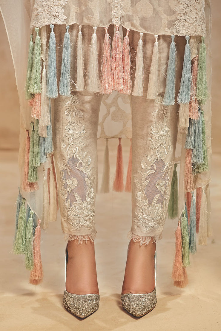 SYMPHONY-Reeady to Wear-Karandi Pants by Ammara Khan