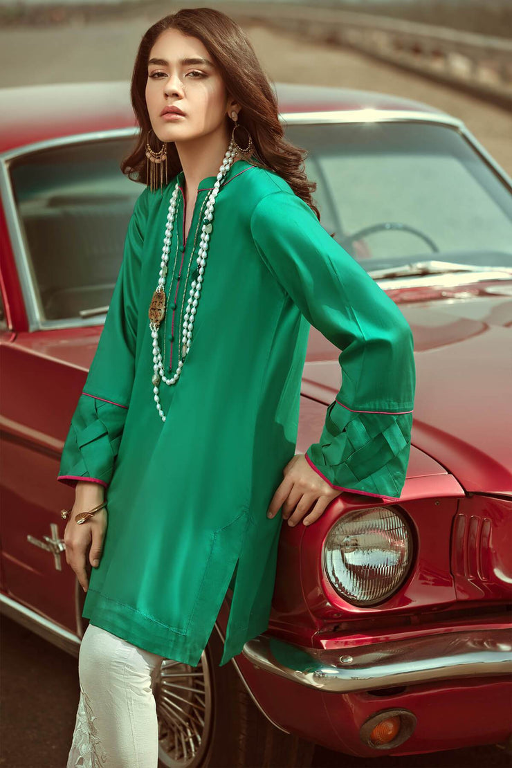 Emerald Green -RTW-SS1924-REVERIE by Ammara Khan