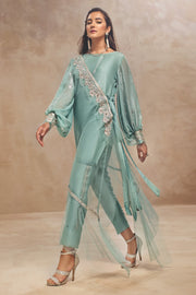 SYMPHONY-Ready to Wear-Ammara Khan Asymmetrical Wrap