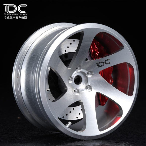 DC 0.06 Wheel Offset +6/+9 Silver EP 1:10 RC Cars Drift On Road RWD AWD DC-90183 (4pcs) - teamdc.net