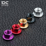DC model Drift short truck accessories M4 nut multicolor optional aluminum alloy 4 DC-50350