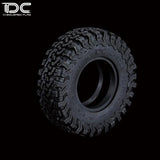 DC RC 1.55inch All-Terrain Truck Tire Discoverer STT Pro Truck Tire  For TF2/D90/RC4WD (2pcs)