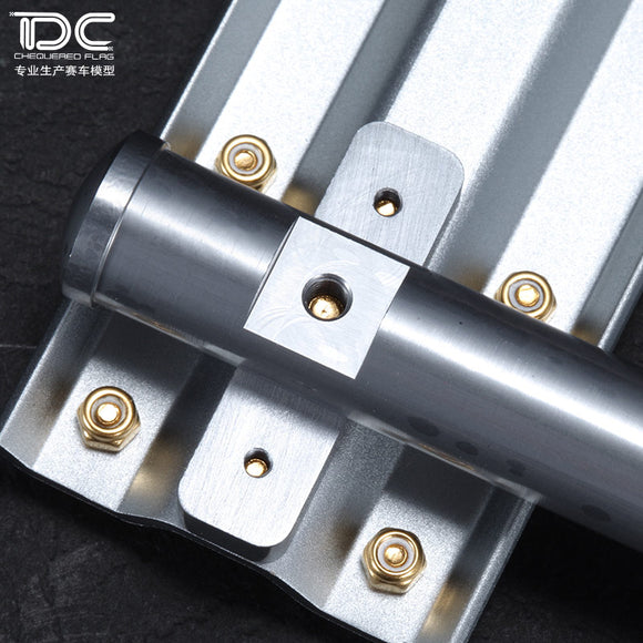 DC model simulation guardrail aluminum alloy dedicated for RC track unlimited extension multicolor DC-50266-50271