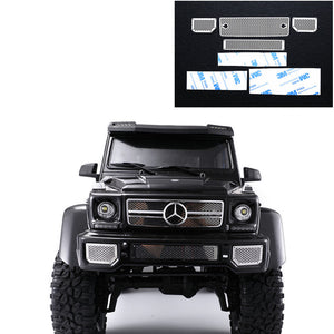 DJ TRX6 G63 TRX4 G500 Mercedes-Benz grille stainless steel metal front grille#DJ-0747