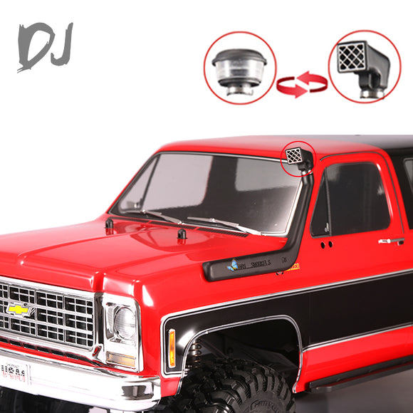 DJC-0685 TRX4 Snorkel Kit / Raised Air Intake Kit pre filter cleaner for chevrolet K5 BLAZER traxxas