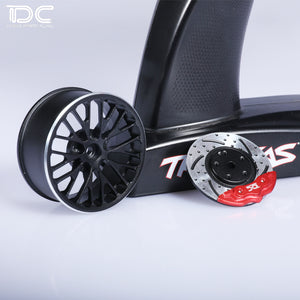 DC RC 1:10 CNC ALUMINUM TRANSMITTER STEERING WHEEL FOR TRAXXAS TQI REMOTE CONTROLER DCA-0218(1PCS)