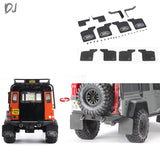 DJ Land Rover TRX4 TRX-4 D110 Rubber Fender Metal Bracket Replaceable Rubber Sheet#DJ-0734