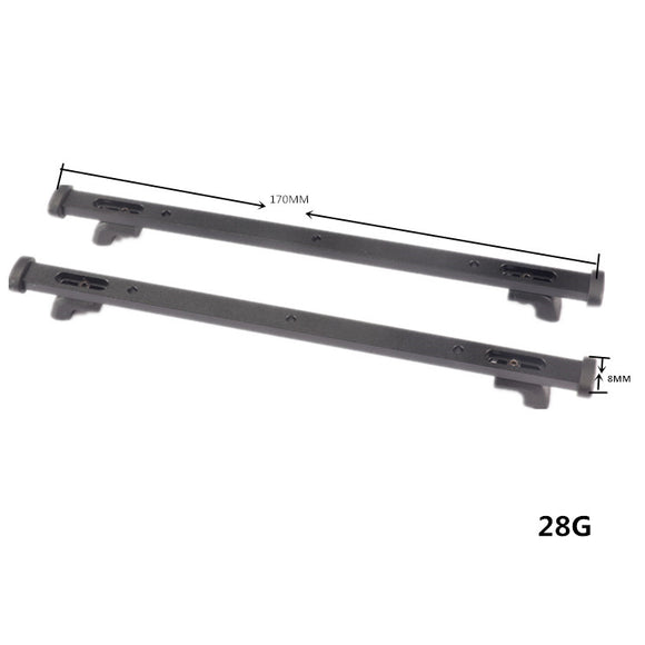 DJ roof fixing rail TRX4 AXIAL Ford Chevrolet RC4WD#DJ-0710