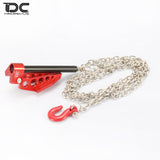 DC RC Foldable Winch Anchor Earth Anchor Decor Tool For RC Car CC01 SCX10 D90 D110 DCA-0033(1Kit)