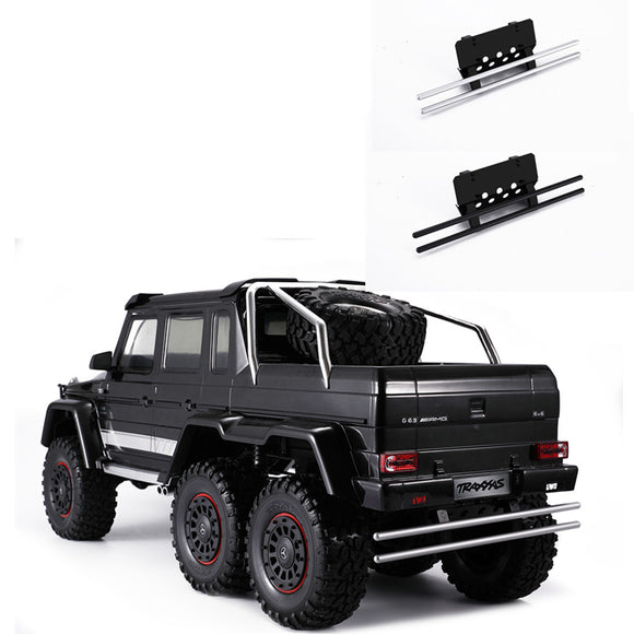 DJ desert rear bumper TRX6 TRX4 Benz G500 G63 + metal bar bottom chassis rear bumper protection#DJ-0720