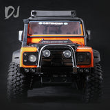 DC-DJ RC 1:10 All Metal Front Bumper Protection Upgrade Part For TRAXXAS TRX4 DEFENDER  (1PCS)