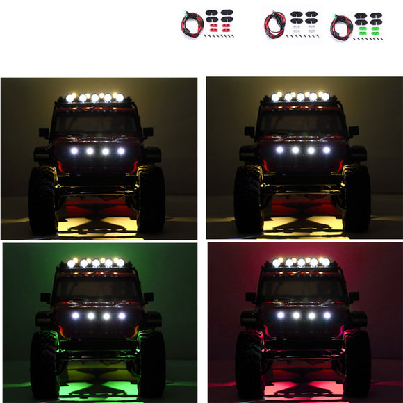 DJ AXIAL SCX10 III JEEP Wrangler Wheel Eyebrow Light Atmosphere Light Chassis Light Decorative Light
