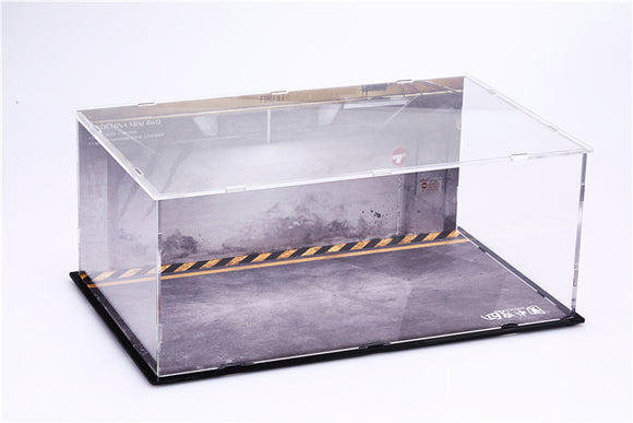 4WD Acrylic Tamiya Four-wheel drive display box Storage box Display storage box Highly transparent and dustproof 4WD-Z0003