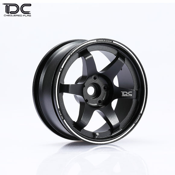 DC TE37 Wheel Offset +6/+9 BR (bronze) EP 1:10 RC Cars Drift On Road RWD AWD (4pcs)DC-50226/50380