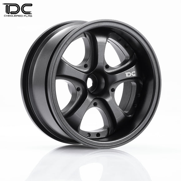 DC RC 1:10 VS KF Wheel Offset +3+6+9 Black EP 1:10 RC Cars Drift On Road RWD AWD DC-50053 (4pcs)