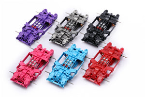 Tamiya four-wheel drive MSL inner suspension chassis 1:32 CNC reprocessed chassis complete set modified multicolor 4WD-B0001