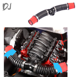 DJC-0681 LS3 V8 6.2L simulated v8 cold air intake sytem filter